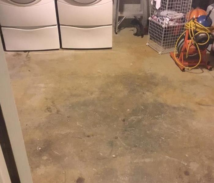 Arnold Water in Basement After
