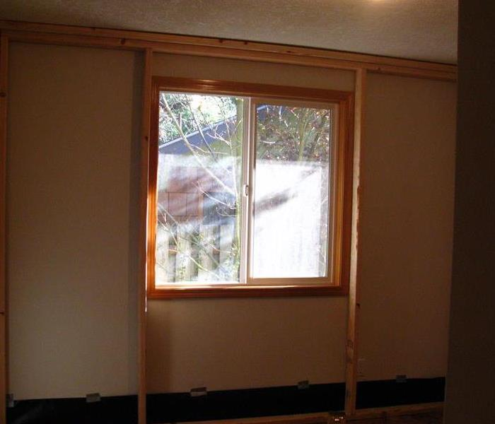Extensive Mold Damage Required Remediation Before Extensive Mold Damage Required Remediation After