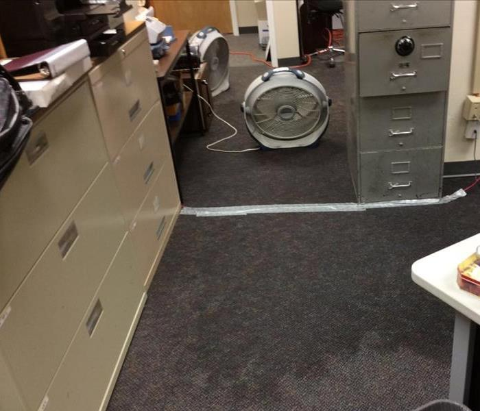 Office Bathroom Floods in Annapolis