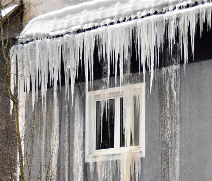 Storm Damage Ice Dams can cause water damage to Millersville homes